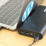 MacBook Proが1回以上充電できてノマド作業の強い味方「Anker PowerCore+ 26800 PD」