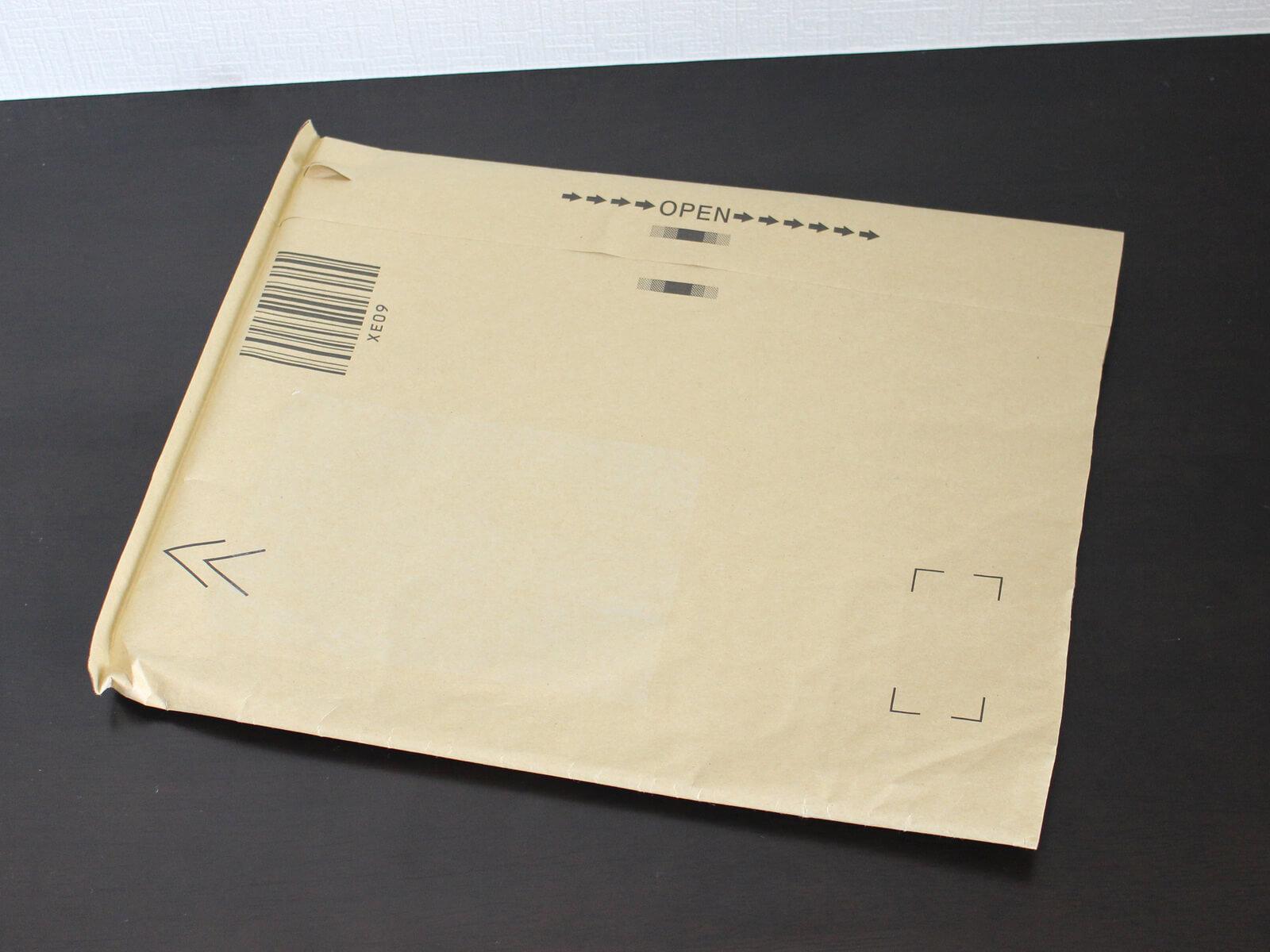 Amazonで本を買うと手に入るおなじみの梱包袋