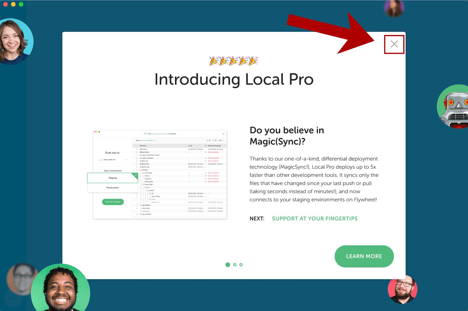 Pro版に関する案内をスキップ