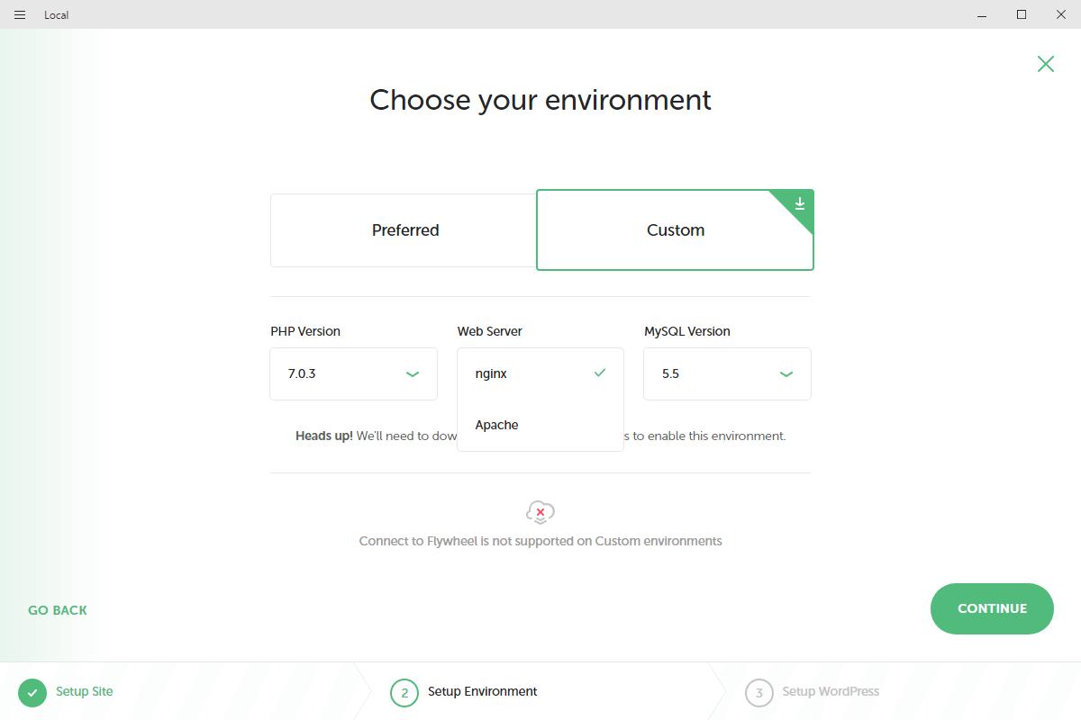 PHPバージョンの変更なども可能
