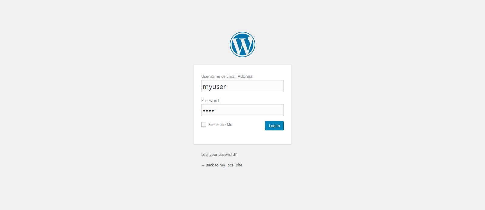WordPressにログインします