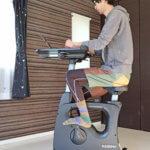 デスクワークしながら運動ができる!健康的な仕事環境を作れる「FlexiSpot デスクバイク V9」レビュー