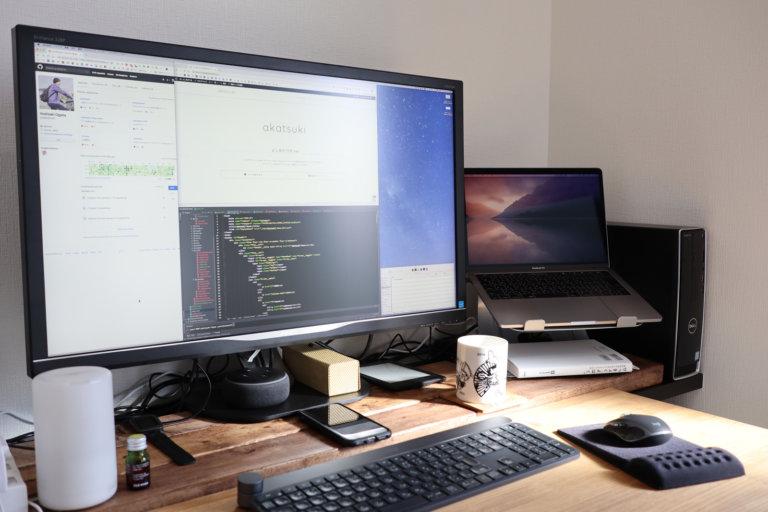 まるで作業効率4倍!USB-C 1本で映像出力・充電ができる4Kモニターが最高に快適でやる気が爆発してる