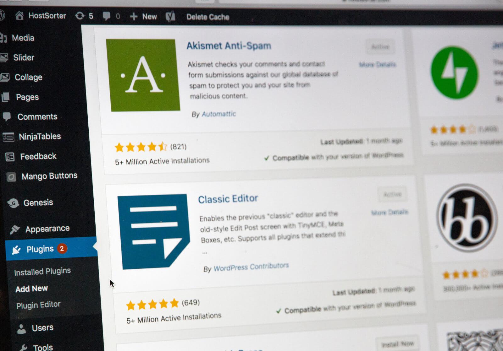 WordPressプラグインのインストール・停止・削除など基本的な使い方